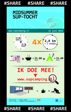 help je ons mee dit SUP event te promoten? www.supcamping.nl