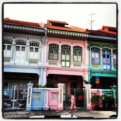 Old Singapore Shop Houses