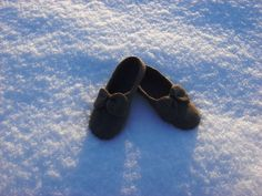 Felted slippers by Ingridfamily on Etsy, $50.00