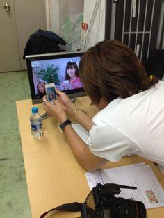 @jksjapan: 2012.7.23 Twitter 笑っていいとも!!控室でのおやぶん!!!!