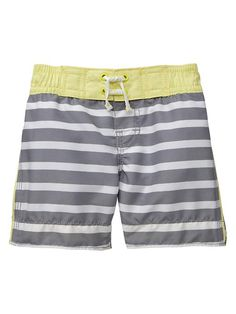 Gap | Striped swim trunks- need these for beach days!!
