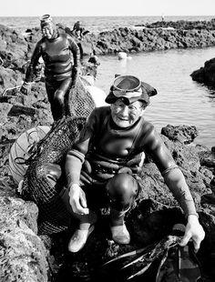 Jeju's Grandma Divers Series #1 [Explored #41] by DMac 5D Mark II, via Flickr