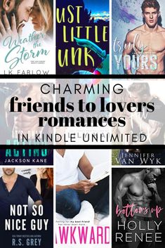 These friends to lovers kindle unlimited romances are sexy, sweet and delicious! You'll be dying for one of the friends to realize what's in front of them. Best Romantic Books, Good Romance Books, Romance Authors, Contemporary Romance Novels, Lovers Romance, Books For Teens, Bestselling Author, Book Lovers, Waiting