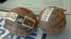 arizona, coconut, colorado, drill, glue, liquid, mail, mailing coconuts, michigan, mythbusters, post office, postage, stamps, weigh