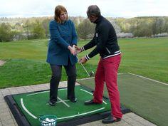 Golf spielen – mein 1. Versuch #golf #golfen #reiseblog #reiseblogger