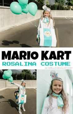 Mario Kart Rosalina Costume Halloween Costumes To Make, Halloween Porch, Family Halloween Costumes, Holidays Halloween, Girl Costumes, Halloween Themes, Costume Ideas, Foam Sheet Crafts, Foam Crafts