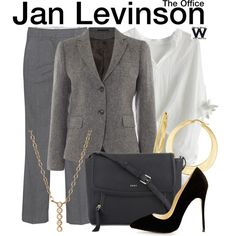 Inspired by Melora Hardin as Jan Levinson on The Office.