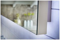 The deluxe modular mirror panel has a matching backboard #mirror #modular #bathroomfurniture #myutopia