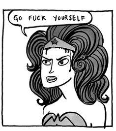 kate beaton's Wonder Woman
