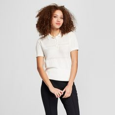 Women's Short Sleeve Polo Sweater - A New Day™ : Target