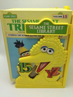 Sesame Street Library 1983 Complete Big Bird Holder 15 Volumes Books