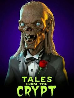 Image shared by Meek. Find images and videos about tales from the crypt and cryptkeeper on We Heart It - the app to get lost in what you love. Horror Movie Characters, Horror Films, Arte Horror, Horror Art, Rock Poster, Tales From The Crypt, Arte Obscura, Classic Horror Movies, Horror Show