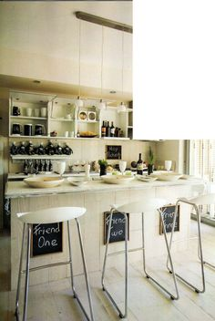 barra de cocina Coffee Shops, Next At Home, Kitchens, Sweet Home, New Homes, House Styles, Table, Diy, Furniture