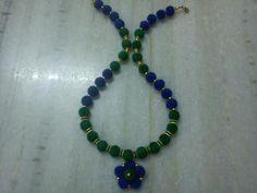 Velvet balls necklace1