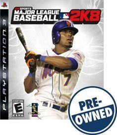 Used Major League Baseball 2K8 - PRE-Owned - PlayStation 3, 710425373558