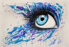 pintura abstrata aquarela - Pesquisa Google
