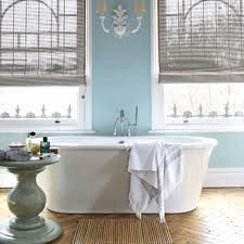 Robin's egg blue bath