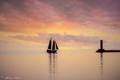 ***A peaceful evening (Grand Marais, Minnesota) by Adrian Koski