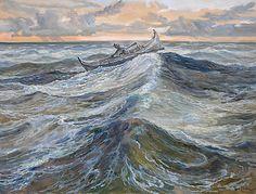 Scandinavian, Hand Painted, Painting, Art, Kunst, Art Background, Painting Art, Paintings, Performing Arts