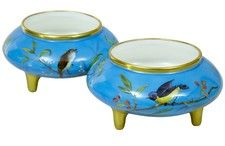 FINE QUALITY PAIR OF MINTON PORCELAIN BOWLS BY CHRISTOPHER DRESSER