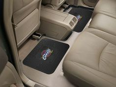 "NBA - Cleveland Cavaliers Backseat Utility Mats 2 Pack 14""x17"""