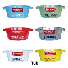 MERCURY マーキュリー タブ TUB ブリキ製バケツ 収納雑貨 アメリカン雑貨|ROOM - my favorites, my shop 好きなモノを集めてお店を作る