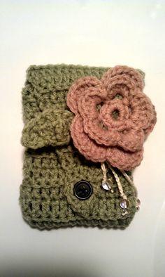 Handmade Crochet cell phone cozy :)