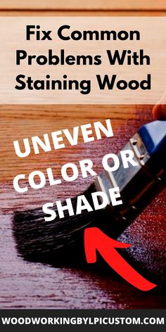 In our article we provide an easy DIY tutorial on the best way to apply stain to wood.  Even if you are new to the wood stain process, we give you the best wood staining techniques ideas making it easy for you to complete your woodworking projects and DIY wood projects.  #woodstain #woodworking #diy #diyproject #tablebuild #furniturebuild #farmhousestyle Diy Wood Signs, Painted Wood Signs, Wood Staining Techniques, Water Based Wood Stain, Wood Gifts, Business Signs, Diy Wood Projects, Shop Ideas, Painting On Wood