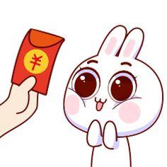 15 Super cute rabbit baby emoticons gif iPhone 8 Emoticons Animoji Rabbit Gif, Rabbit Baby, Kawaii Stickers, Cute Stickers, Gif Iphone, Emoticons Download, Kawaii Doodles, Cartoon Gifs, Line Friends