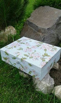 Great gift for your mother and grandmother and friend.It is made in decoupage technique.32eur