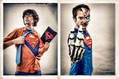 the death and return of #superman explained by Max Landis (Chronicle) and Elijah Wood