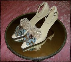 Tea with the Queen Marie Antoinette inspired shoes