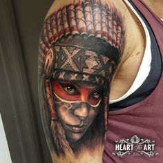 Love this arm tattoo, the eyes and colours are amazing.