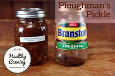 Ploughman's Pickle 005 Cheese And Pickle Sandwich, Onion Marmalade Recipes, Chow Chow Relish, Watermelon Jam, Gherkin Pickle, Branston Pickle, Kitchen Bouquet, Sweet Pickles, Chutney Recipes