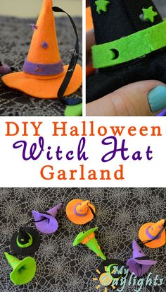 DIY Witch Hat Garland