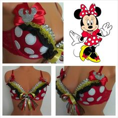 Custom Minnie Mouse by Vixen Designs