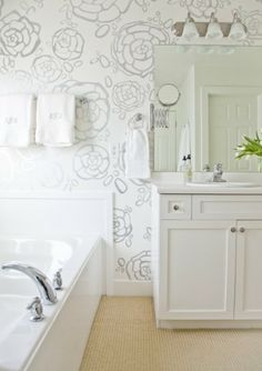 hand painted wall patterns