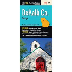Dekalb County Fold Map (Set of 2)