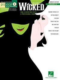 Wicked  (just tämä CD-versio) 11,80 e