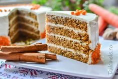 Food Cakes, Carrot Cake, Starbucks, Carrots, Cake Recipes, Food And Drink, Health Fitness, Cookies, Dinner