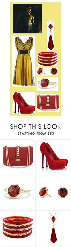 """Short Dresses: Eobard Thawne / Reverse Flash"" by hayzkidrocky ❤ liked on Polyvore featuring Valentino, Yves Saint Laurent, David Yurman and Dolce&Gabbana"