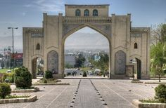 The #Quran Gateway is the entrance to Shiraz, the capital of Fars province in southern Iran and is one of the most beautiful and historical monuments in the country.