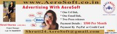 Shruti Sharma Best SEO in Asia: Advertising With AeroSoft Corp