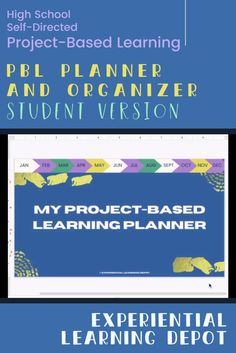 This self-directed project-based learning planner and organizer is perfect for streamlining and guiding students throughout the process. Students are able to build skill in organization and planning while getting creative with self-directed PBL. Check it out. #projectbasedlearning Teaching Strategies, Learning Activities, 21st Century Classroom, Experiential Learning, 21st Century Skills, Student Planner, Project Based Learning, Curriculum, High School