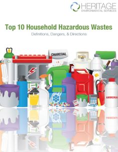 A free ebook that lists out tons of household hazardous wastes! Also tells why they are dangerous and what you should do with them.  Super Helpful.