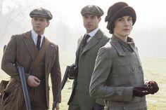 Lady Mary, Tom Branson and Tony Gillingham in Downton Abbey season 5