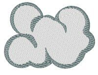 Embroidery | Free Machine Embroidery Designs | Bunnycup Embroidery | Just Kiddin Around | cloud