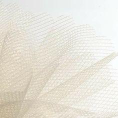 Ivory Tulle Pre Cut Circles 50pk