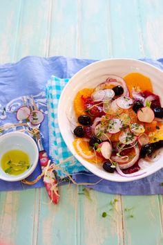 Sicilian Orange and Olive Salad