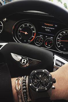 draftthemes: envyavenue: Bentley X Audemars Piguet Follow us...
